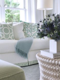 long shore home - traditional - living room - providence - Digs Design Company