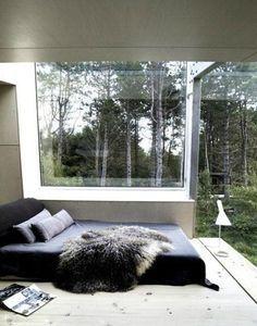 Love the all-window walls.