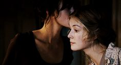 thatwetshirt: Pride & Prejudice (2005) elizabeth + jane
