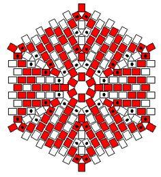 Diseña tu propio colgante en grande     http://shala.addr.com/bella/hexagonal_peyote/hexagonal_round_graphpaper.gif     En pequeño      ht...