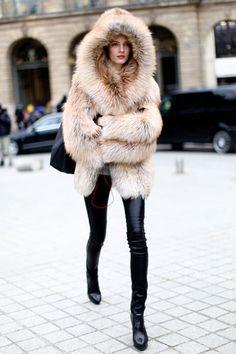 Canonissime!Les plus beaux looks du public de la Fashion Week de Paris @valeriemousseau