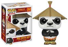 POP - Kung Fu Panda - Po mit Hut/with Hat Figur Spielwaren Figuren Verschiedene…