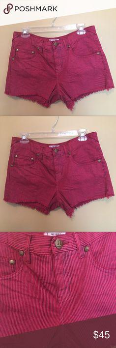 🌺 Free People Striped Denim Shorts 🌺 Free People Striped Denim Shorts Free People Shorts Jean Shorts