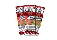 Baseball  party invitation idea