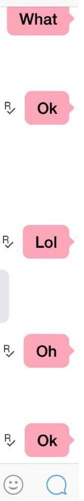 If i answer like this there's a 100% chance i'm not in the mood for you