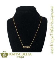 NEW KD Boutique Spring Accessories!! ΚΔ Gold Bar Necklace