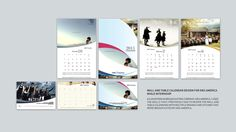 Wall Calendar Design Samples