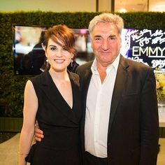 @tvacademyfoundation: @theladydockers and #jimcarter night out from #DowntonAbbey #emmys