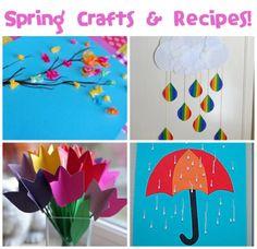 Spring Crafts & Recipes