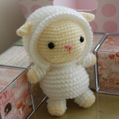 Super cute amigurumi