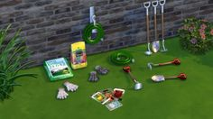 GARDENING DECORATION at Leo Sims • Sims 4 Updates