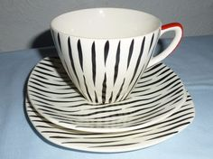 Midwinter Zambesi Stylecraft Trio - cup, saucer, and side plate. in Pottery, Porcelain & Glass, Pottery, Midwinter | eBay