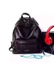 a323cd360b8d Givenchy Backpack In Black Smooth Calfskin With Printed Star. Fabulous  Handbags