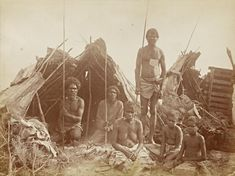 Charles Bayliss: Aborigines of New South Wales, c. 1879 -1888. Albumen silver photograph