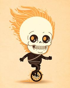 Mike Mitchell - Just Like Us Ghost Rider