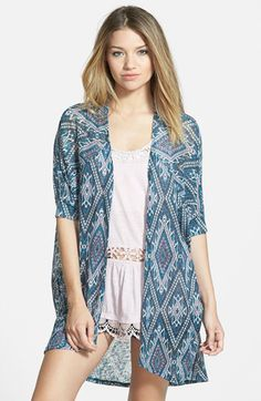 Painted Threads 'Kimi' Cardigan (Juniors) available at #Nordstrom