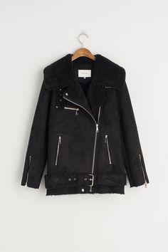 Shearling Rider Jacket (Special Edition), Black