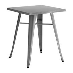 Modern Alfresco Cubic Table in Grey