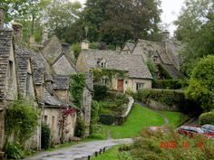 limestone cottages - quaint and charming  the Cotswolds, England