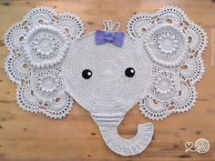 Crochet Elephant Rug : 1000+ images about craft - crochet and knitting on Pinterest Crochet ...