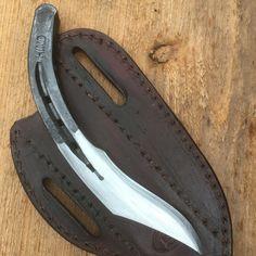 Hand forged Horseshoe knife.