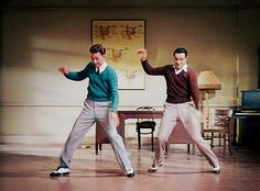 Donald O'Connor and Gene Kelly- From website 'As Cosy As Can Be'