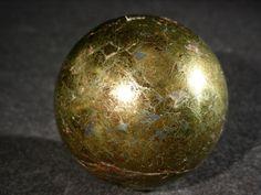 Chalcopyrite Sphere from CRYSTALS MINERALS GEMSTONES FOSSILS ROCKS