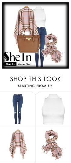 """""""Shein"""" by zerka-749 ❤ liked on Polyvore featuring WearAll and Michael Kors"""