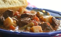 "Kelly's Southwestern Beef Stew---Kelly's Southwestern Beef Stew: ""Thick, rich and hearty beef stew that is anything BUT bland, if you know what I mean! It took me several years to perfect this recipe, and I'm proud to say that it was recently published in a magazine!"" -Wildflour"