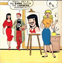 Archie Comics Strips, Archie Comic Books, Old Comics, Vintage Comics, Marvel Comics, Creepy Comics, Funny Comics, New Riverdale, Archie Comics Riverdale