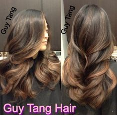Natural ombré on dark hair by  Guy Tang | Yelp