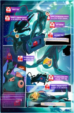 #TheSciMyLie issue1 Page8. Weekly #WebComic @ candyapplefox.com