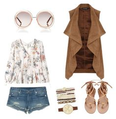 """Coachela inspired Look"" by hanakalesic on Polyvore featuring moda, True Religion, Rebecca Taylor, Dorothy Perkins, Jessica Carlyle i Chloé"