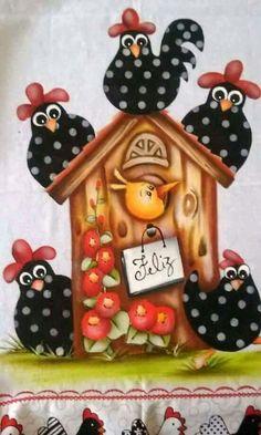 Casinha de galinha