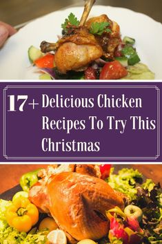 Chicken Recipes for Christmas - Enjoy our best chicken recipes for Christmas dinner eve that you make pretty quickly and serve hot with your family. #chickenrecipesforchristmas #christmasrecipes #christmasdinners #christmaslunch #chickenrecipes #maindish #sidedish Chicken Main Course Recipes, Quick Chicken Recipes, Healthy Chicken Dinner, Chicken Breast Recipes Healthy, Beef Recipes, Yum Yum Chicken, Appetizer Recipes, Eve, Favourite Chicken
