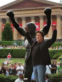 The Millionairess of Pennsylvania:  Museum of Art, The Rocky Statue and Sylvester Stallone - Philadelphia, Pennsylvania