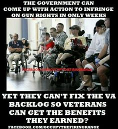 Those sick liberal bastards do not give a damn about the wounded veterans! Stripping away our rights and and turning America into a communist nation is another story...