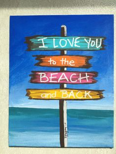 Beach sign Etsy.com VickieGregoryArt