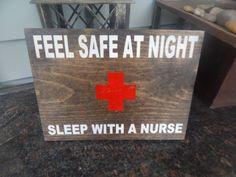 Nurse decor nurse quote nurse gift Wooden indoor / by GGSIGNS