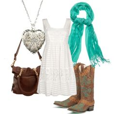 Perfect combo of country and girly <3