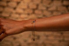 Drei Armbänder für drei außergewöhnlich Frauen.  #Saphir #Rubin #Citrin Armband Independent Women, Strong, Bracelets, Jewelry, Sapphire, Gold Plated Jewellery, Strong Women, Jewlery, Jewerly