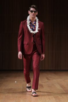 David Hart Men's RTW Spring 2014 - Slideshow - Runway, Fashion Week, Reviews and Slideshows - WWD.com