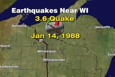 Risk of Earthquakes in Wisconsin?