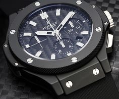 I love my HUBLOT Big Bang Evolution Black Magic