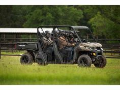 New 2017 Can-Am Defender MAX DPS HD10 ATVs For Sale in Florida. Take control with the Defender MAX DPS that features comfortable Dynamic Power Steering (DPS), lightweight wheels and tires, adaptable storage, Visco Lok QE and more to make your job easier. The Defender MAX DPS features comfortable steering with room for six.