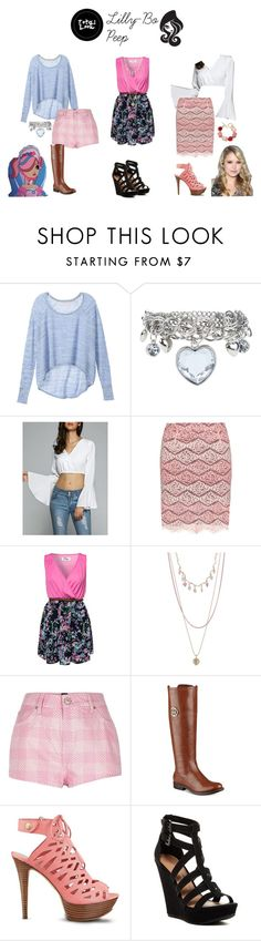 """Ever After High"" by sayashadowhunter ❤ liked on Polyvore featuring Victoria's Secret, Manon Baptiste, Madam Rage, Forever 21, River Island, Tommy Hilfiger, GUESS, Chinese Laundry and Oscar de la Renta"