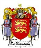 Normandy ,France COA, Coat of Arms and Shield.