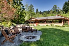 Cascade Retreat in the Gorge, located at the end of a quiet road overlooking the Columbia Gorge - Vacasa Vacation Rentals.