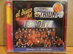 OPERACIÓN TRIUNFO. EL DISCO DEL DEPORTE. CD / VALE MUSIC - 2002. 8 TEMAS. CALIDAD LUJO.