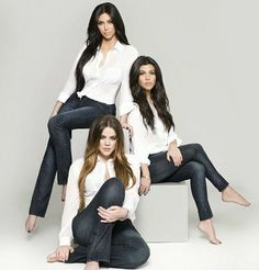 Pose for 3 girls--ignore that it's the Kardashans.